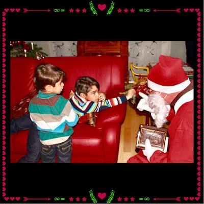 Nikolaus mit Kindern