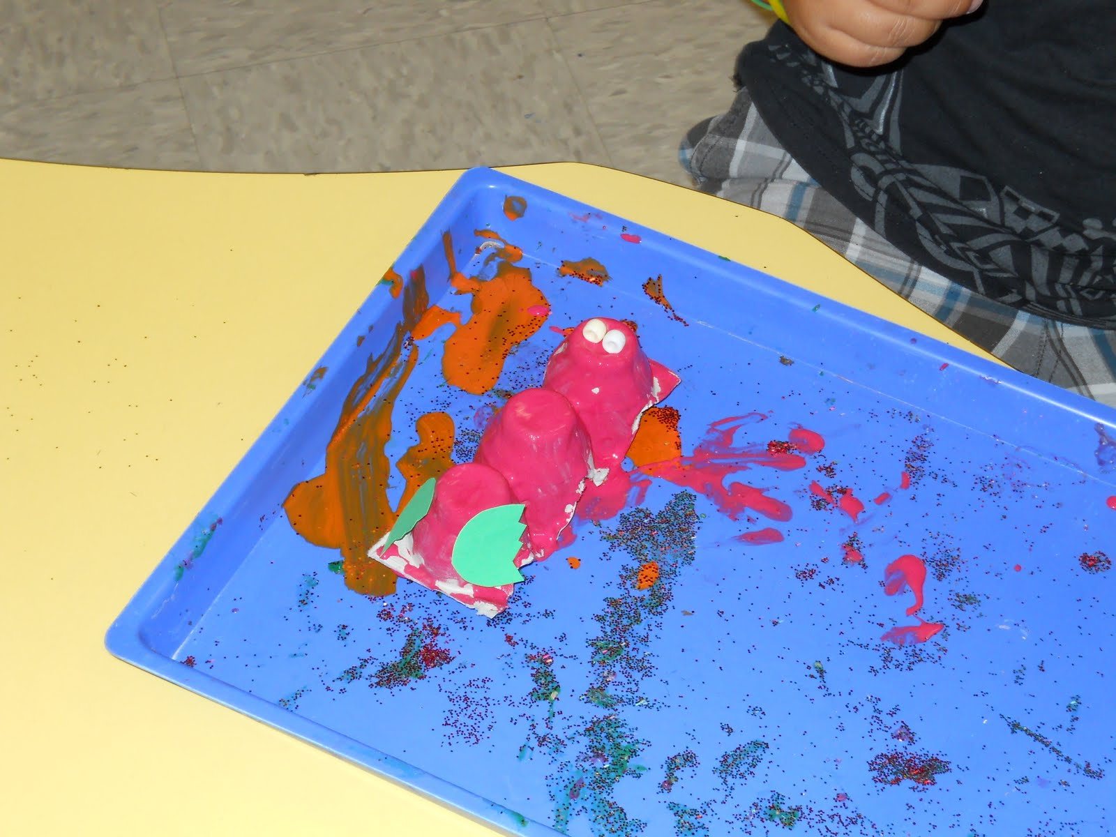 Learning And Teaching With Preschoolers Making Crawfish In Preschool