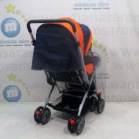 Kereta Bayi CREATIVE BABY BS218 CLASSIC Orange