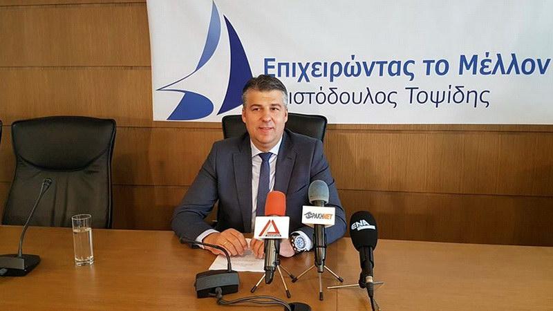 Κάλεσμα Τοψίδη για συμμετοχή στις εκλογές του Επιμελητηρίου Έβρου