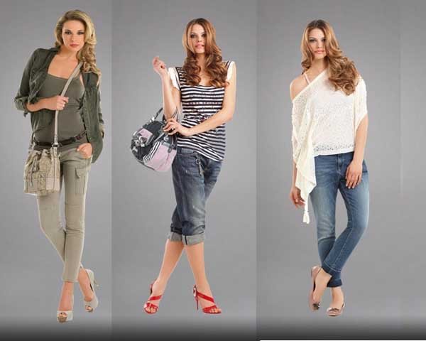 The New Guess Women's Spring / Summer 2011 LookBook ...