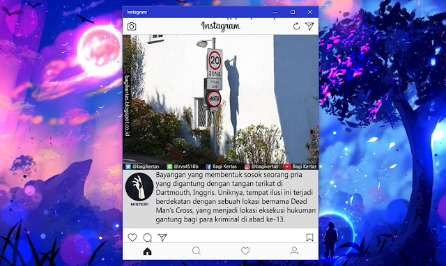 cara download instagram di pc