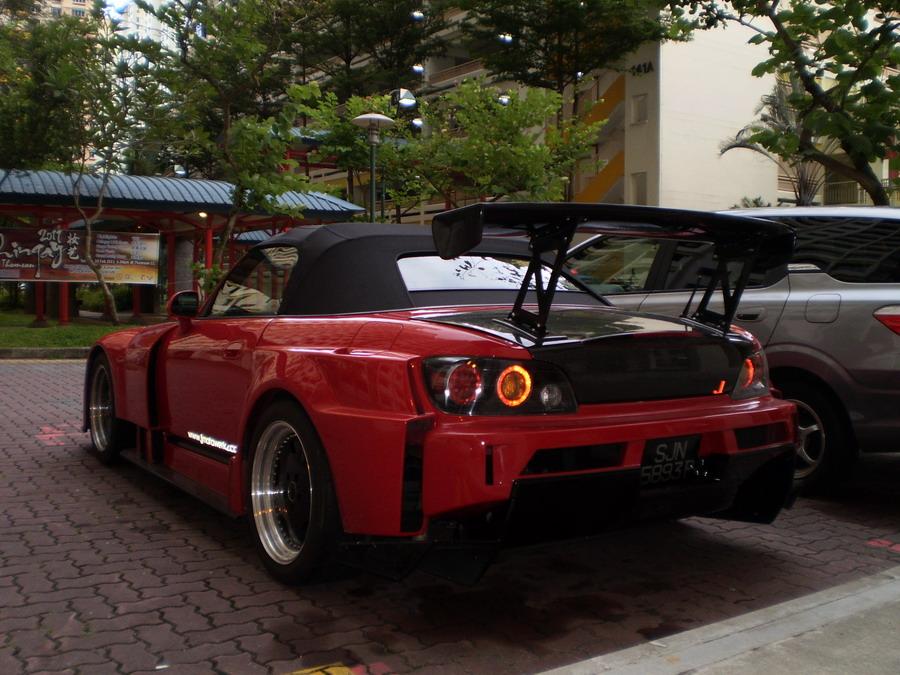 Honda Civic Type S 2013 >> Super Custom Car: Wide Body Honda S2000