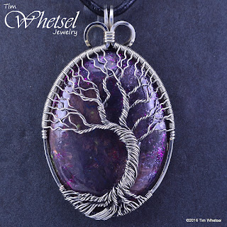 Wire Wrapped Jewelry by Tim Whetsel: Handmade Wire Wrapped Sterling ...