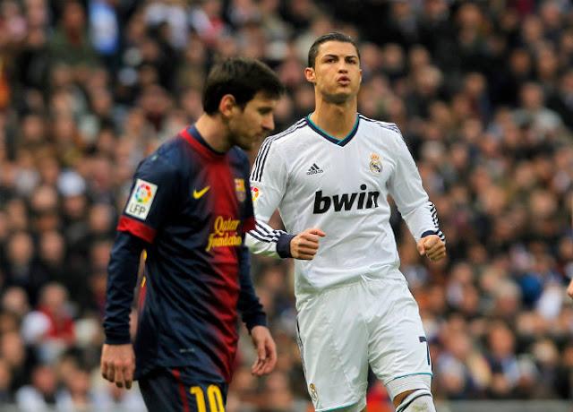 """Siêu kinh điển Barca - Real: Vì mục tiêu C1, Ronaldo không cần """"trốn"""" Messi 1"""
