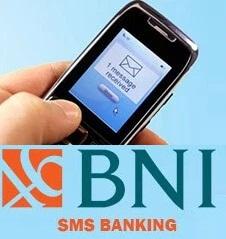 sms banking bank BNI