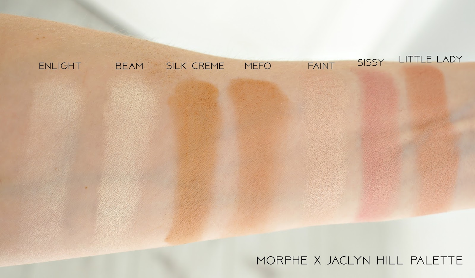 Morphe X Jaclyn Hill Eyeshadow Palette Swatches