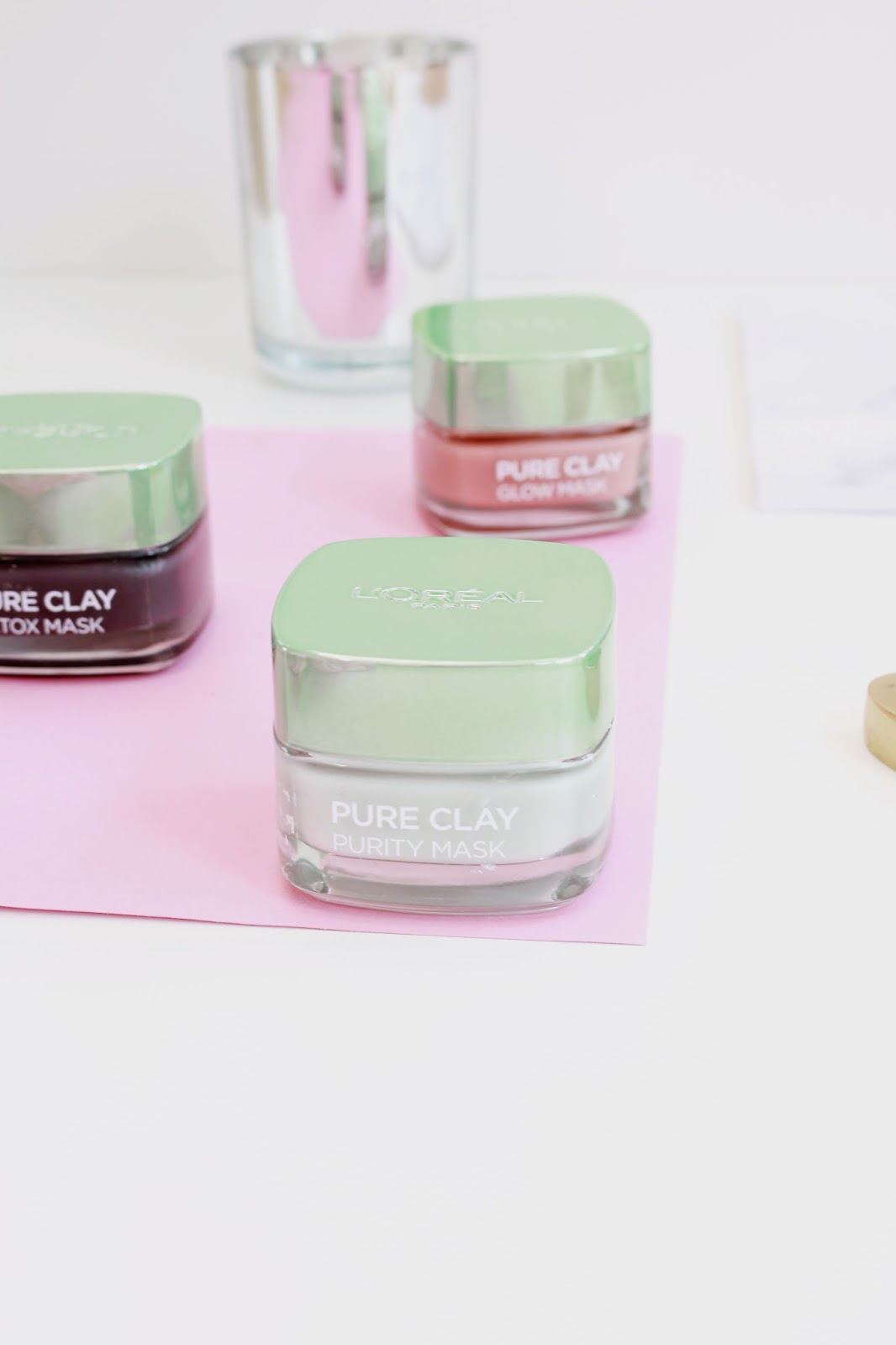 Beauty, Skincare, Face Masks, L'Oreal, L'Oreal clay masks, Multimasking, Drugstore,