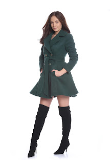 Palton dama cloș  – Ama Fashion