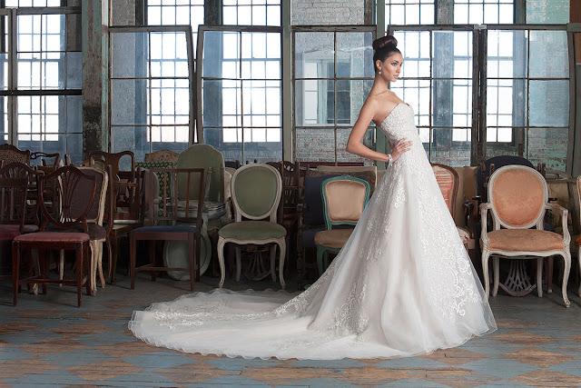 Increíbles vestidos de novias | Colección Justin Alexander