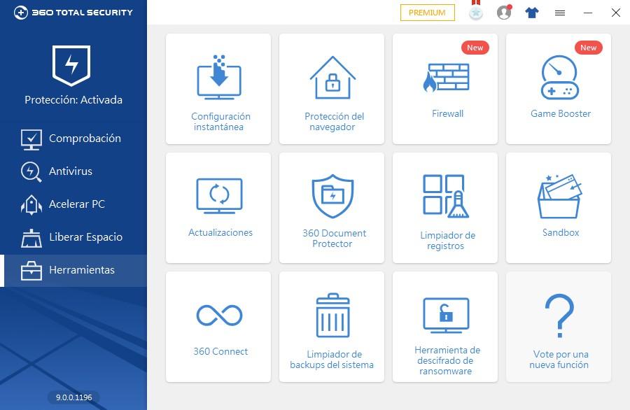 Herramientas de 360 Total Security - El Blog de HiiARA