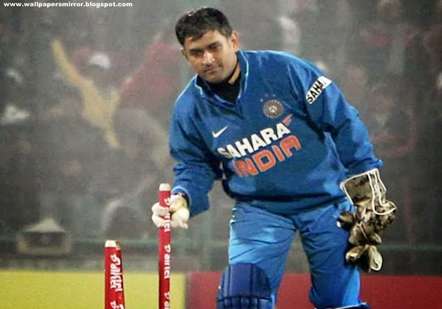 MS Dhoni Free hd Wallpapers For Desktop