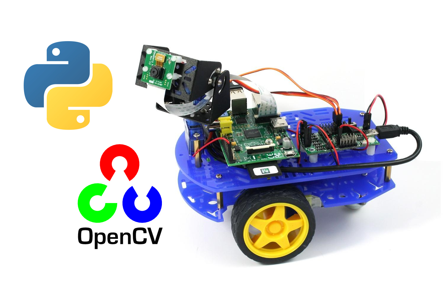 How to build Robots using ROS, OpenCV, Raspberry Pi and
