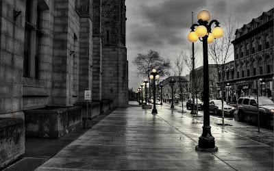 city evening widescreen hd wallpaper