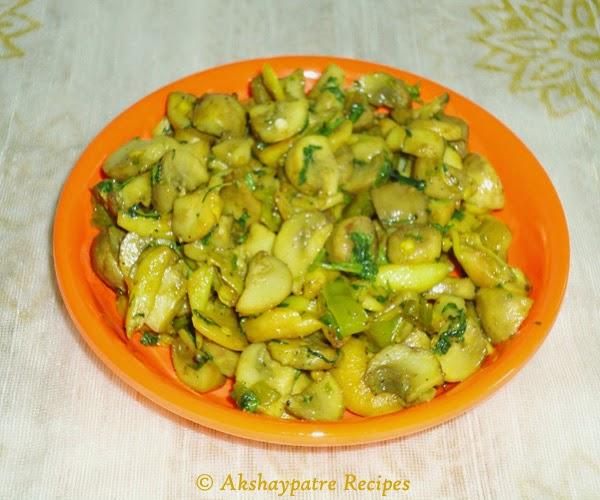 mushroom garlic stir fry