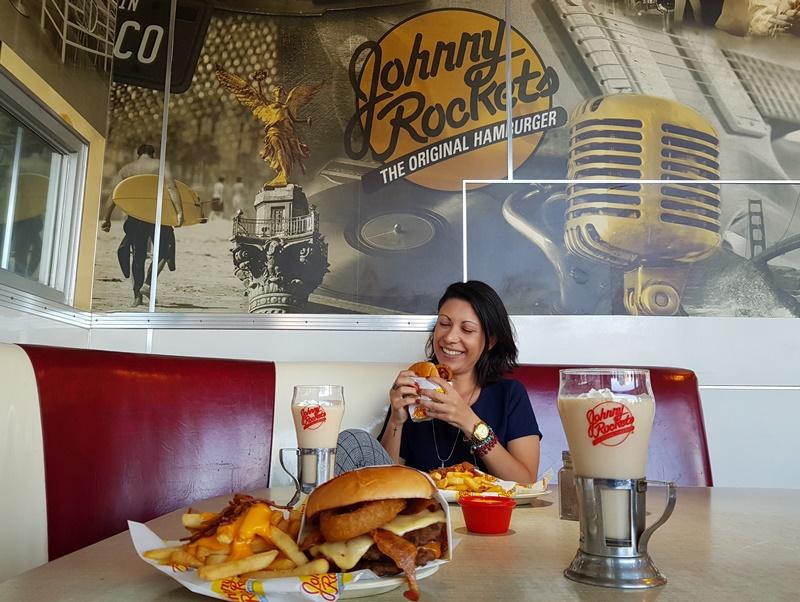 Melhor hamburgueria em Santiago, Johnny Rockets