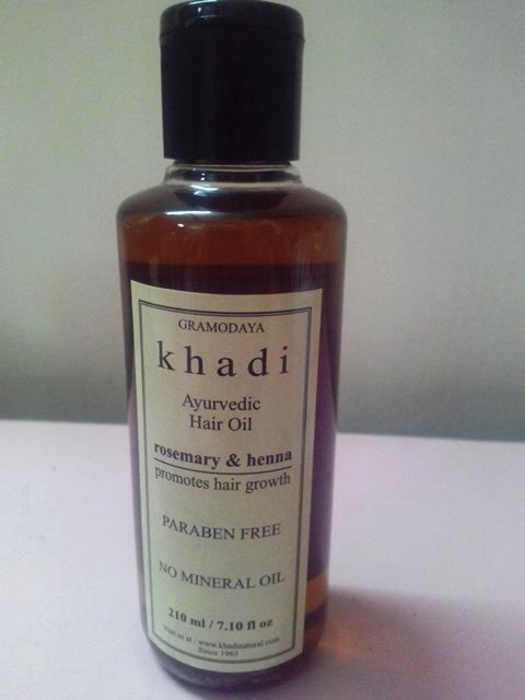 Khadi Ayurvedic Hair Growth Oil - Rosemary & Henna Review