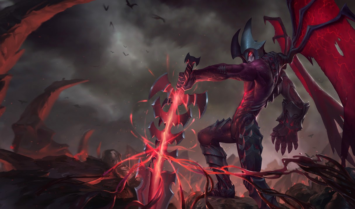 League Of Legends Wallpaper And Cover Photos Blóg Aatrox