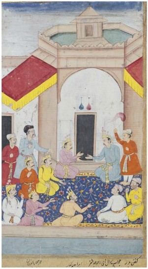 Yudhisthira,Bhima, Arjuna, Nakula and Sahadeva