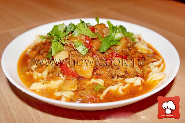 рецепт как приготовить вкусный лагман узбекистан