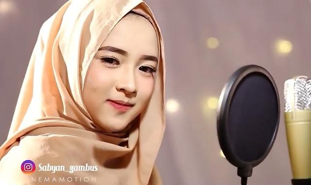 Foto Nissa Sabyan Gambus Cantik Imut Baper Gemesin