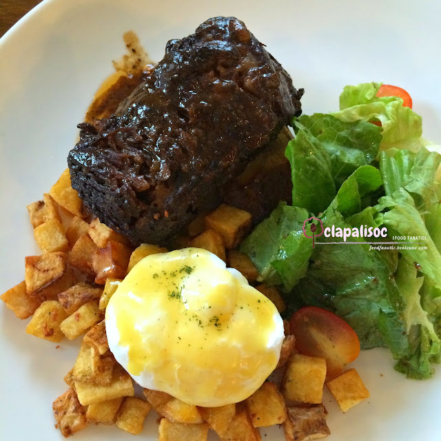 Short Ribs Benedict from Single Origin Rockwell