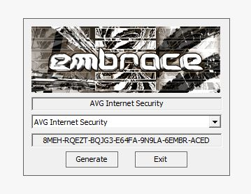 avg internet security serial