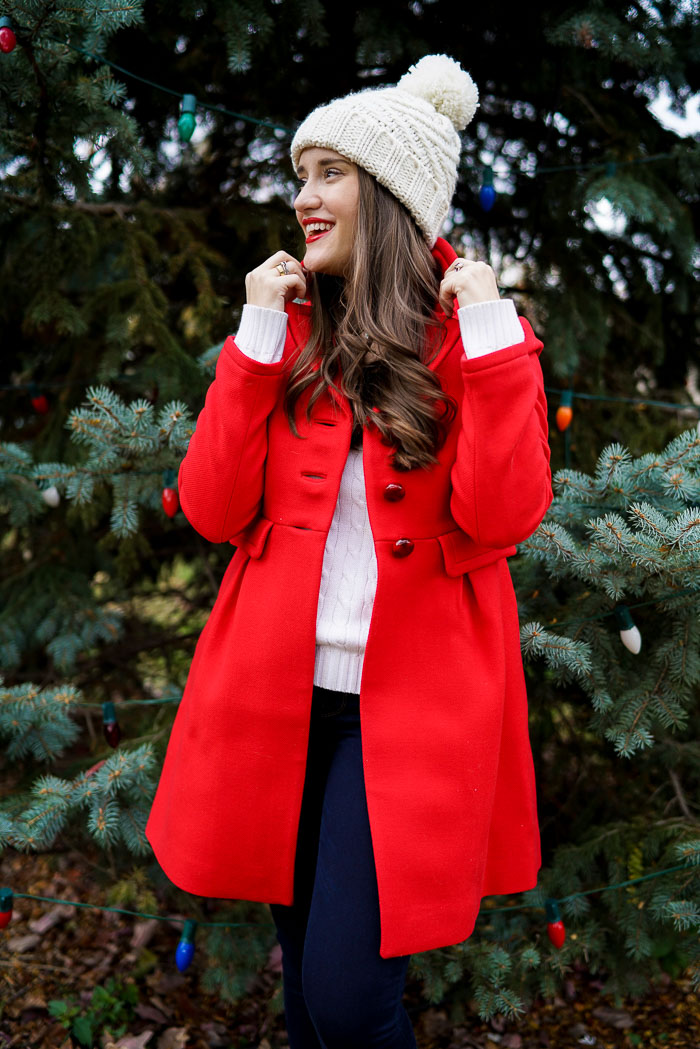 Krista Robertson, Covering the Bases, Travel Blog, NYC Blog, Preppy Blog, Style, Fashion Blog, Fashion, Preppy, Winter Style, Red Coat, Kate Spade, Kate Spade Style, Winter Fashion, Hautelook