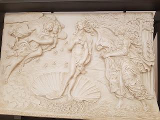 Uffizi da toccare Nascita di Venere Botticelli