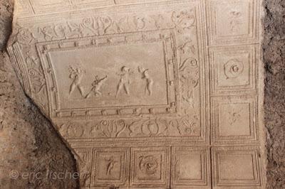 Voyage à Rome, mont palatin, décorations murales, antiquité romaine, Rome,