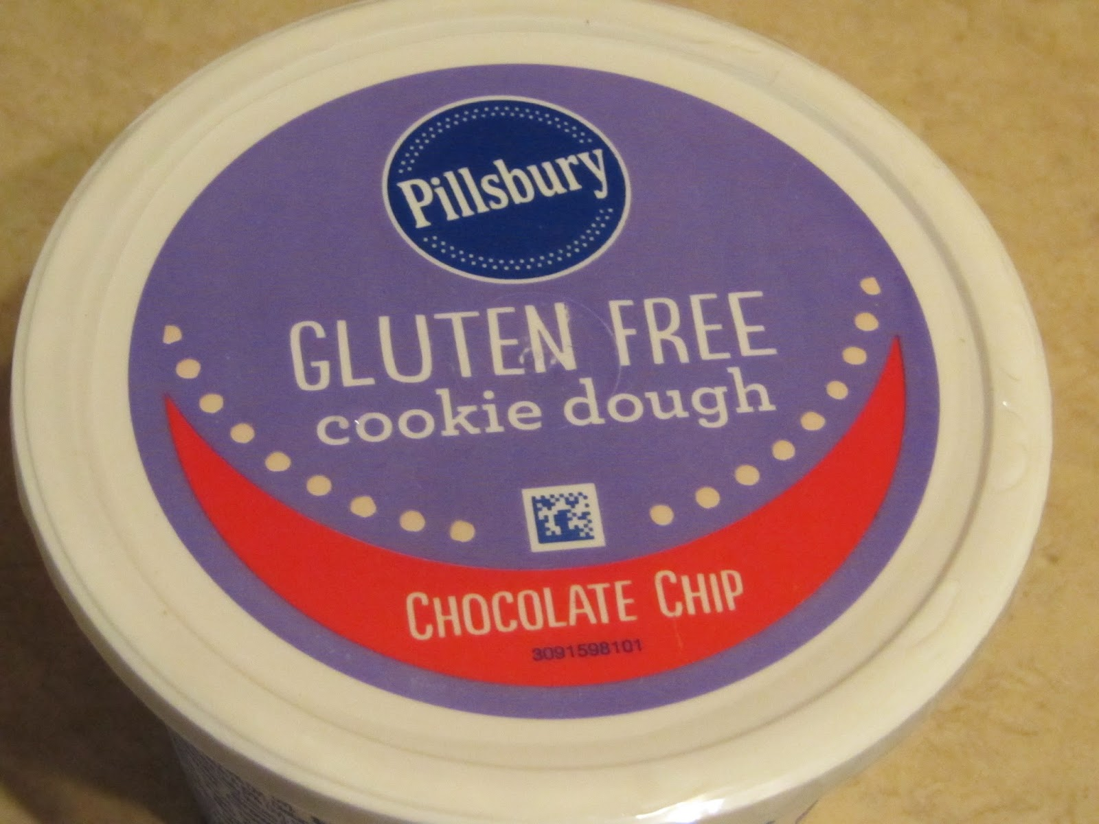 New Pillsbury Gluten Free Cookie Dough!
