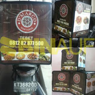 tas delivery makanan jakarta dmarco