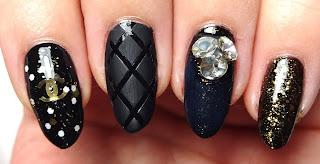 Rhinestone Nail