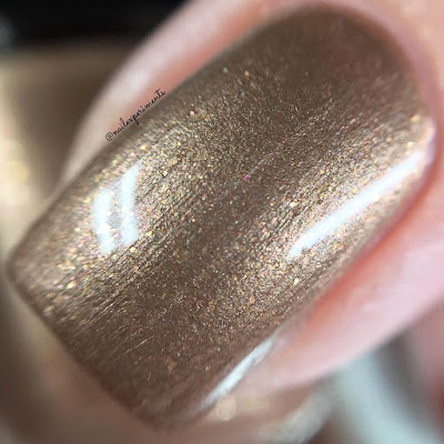 Fiendish Fancies Aunt Lydia swatch from the Survive collection
