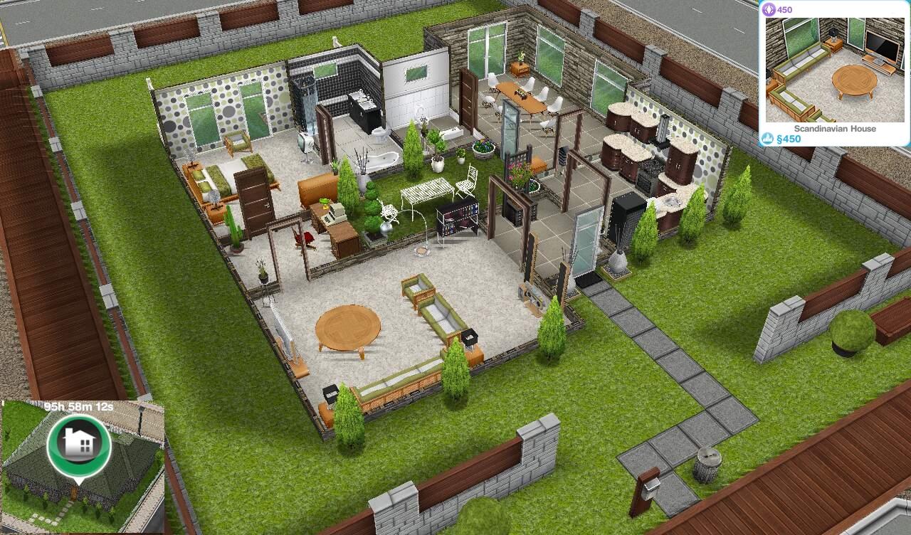 Beautiful Sims Freeplay Designer Home Photos - Decorating House ...