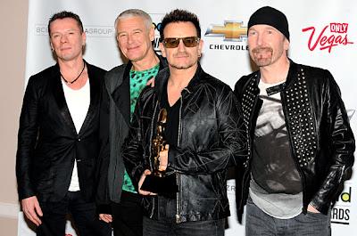 U2 se presenta en los Billboard Awards 2011