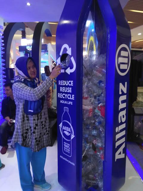 Tukar botol plastik dapat asuransi