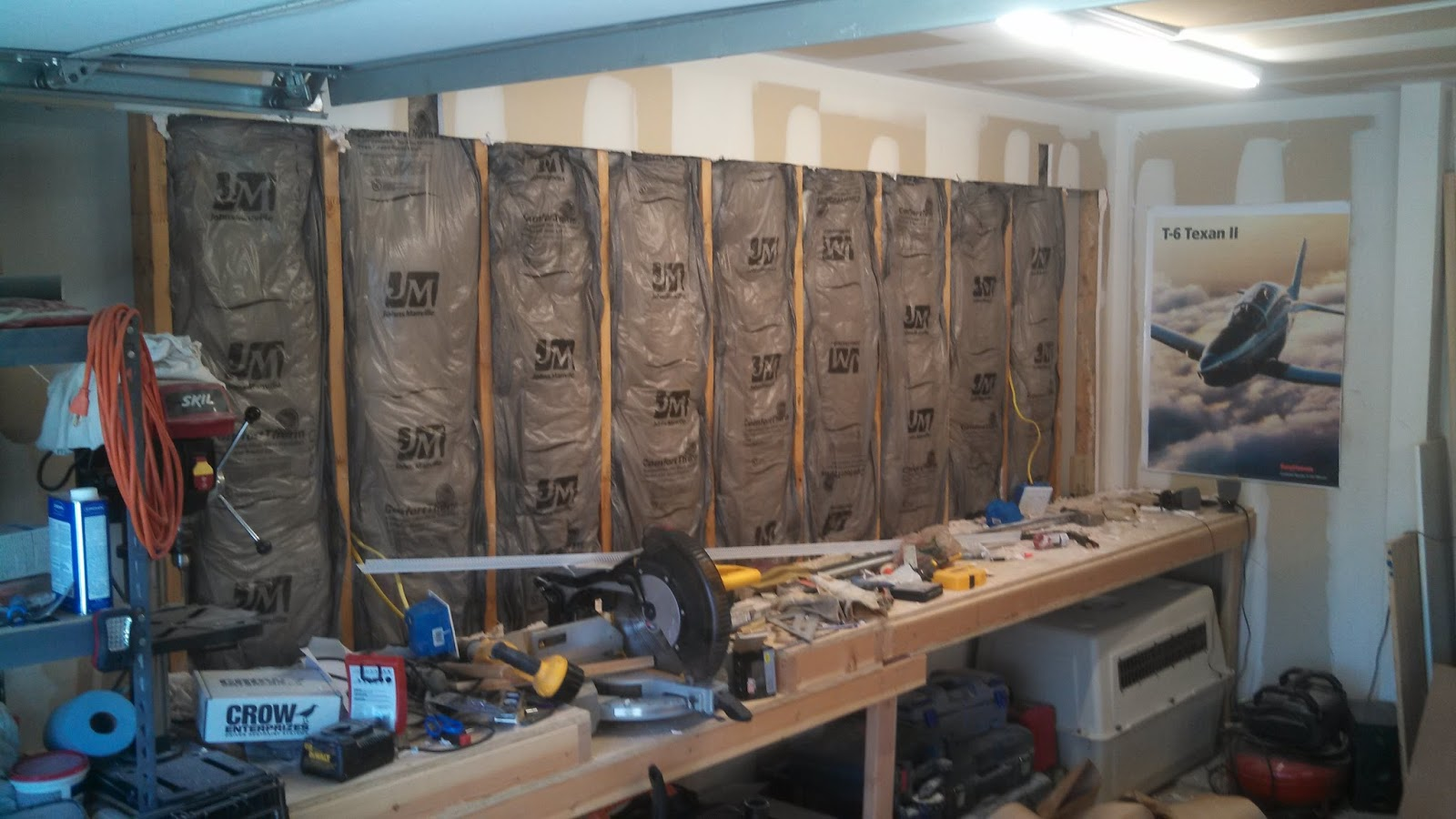 single car garage man cave ideas - [callsign]KTF Man Cave Series How to Insulate Your Garage