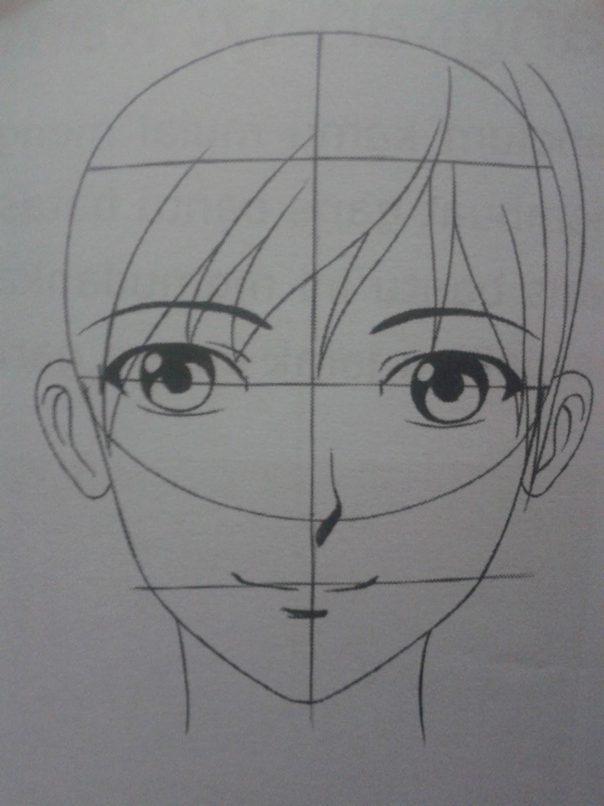 Teknik dasar menggambar manga untuk pemula triktutorial