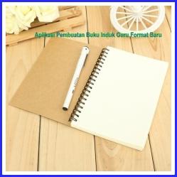 Aplikasi Pembuatan Buku Induk Guru Format Baru