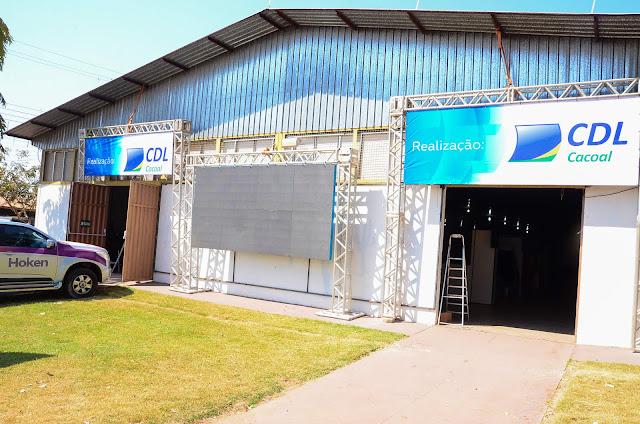 Espaço Multissetorial da Expoac inaugura hoje em Cacoal