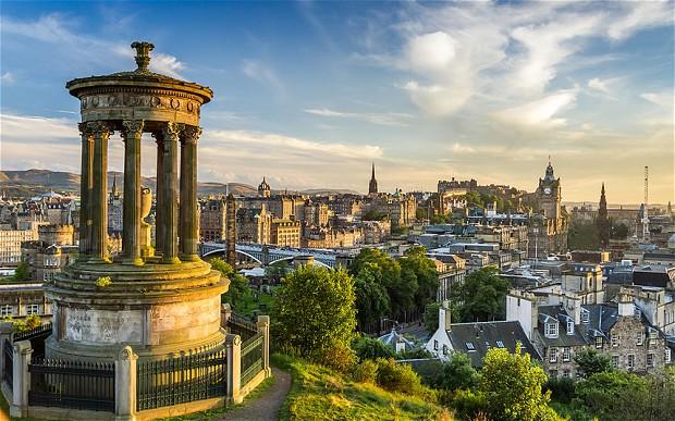 Edinburgh Scotland View