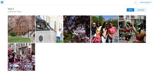 Dropbox, 10 trang web lưu trữ và chia sẻ hình ảnh tốt nhất