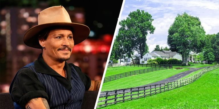 This horse farm in Lexington, Kentucky is one of many properties owned by famed actor Johnny Depp. This is a beautiful 41-acre estate and will be auctioned off this September 15. Last December, it hit the market for $2.9 million. The Pirates of Caribbean star purchased the property in 1995 fo $950,000. He sells it for $1 million in 2001 and four-years later he bought it again for $2 million. Reports said this house serves as home for actor's mother, Betty Sue who died in May 2016. This property has two horse barns, paddocks, a four-car garage, a guest house, and manager's quarters. The beautiful 5,944-square-foot main house contains 6 bedrooms and 6.5 baths. There are a pool and sunroom too!