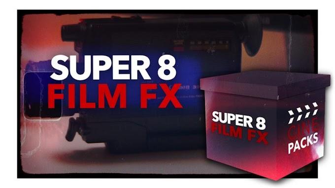CinePacks Super 8 Film FX Free Download
