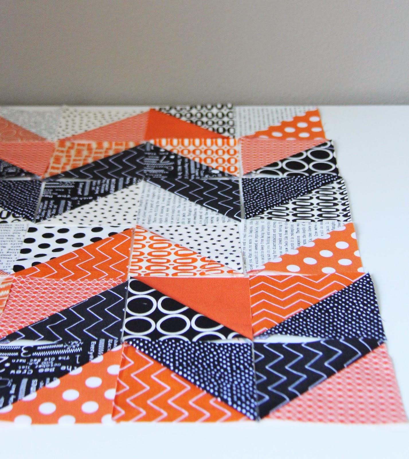 Cluck Cluck Sew Orange Black