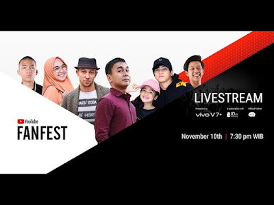 Livestream YouTube FanFest Indonesia 2017