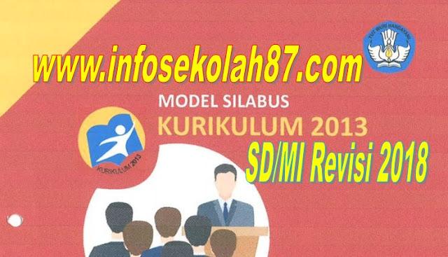 Terbaru Silabus Tematik Terpadu Kurikulum 2013 SD/MI Edisi Revisi 2018