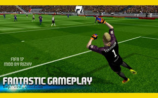 Download FTS Mod FIFA 17 v2 by Rizky Apk + Data Obb Android