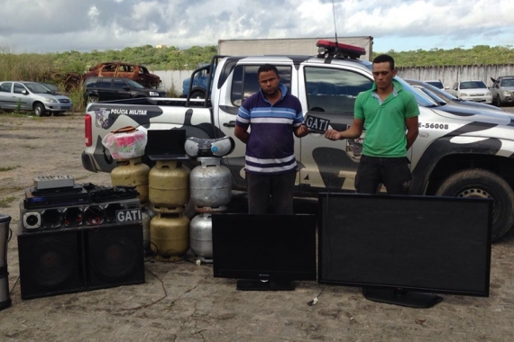 Polícia desarticula bando acusado de vários roubos a chácaras no interior do estado